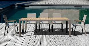 Contemporary modern outdoor dining set furniture stores