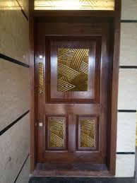 Indian Traditional Front Door Designs Combination Of Wood And Brass Hope You Like It Door With