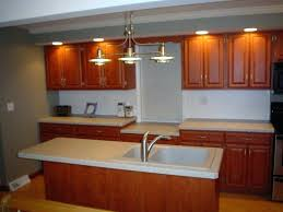 used track lighting. Types Outstanding Classic Kitchen Refacing Track Lighting Mixed With Wooden Cabinet Ideas And Stainless Single Handle Used