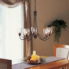 trellis 5 arm chandelier