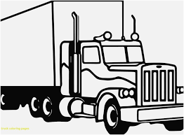 logging coloring pages truck pictures to color collection stylish design semi truck