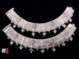 Fancy Silver Payal Designs With Price New Design Silver Fancy Payal Wedding Silver Ornaments