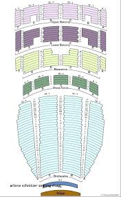 Centennial Concert Hall Seating Chart Arlene Schnitzer Concert Hall Seating Map