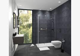 Kleines Duschbad Ideen Dunkel Natürlich Obi Badplaner