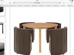 hideaway dining set uk. dining room perfect round table kitchen and tables on hideaway set uk