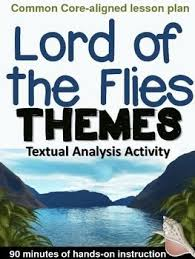 best lord of the flies images english lessons lord of the flies themes textual analysis activity