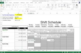 Shift Scheduling Excel Download Shift Scheduler For Excel 1
