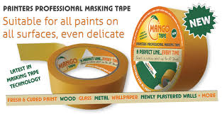 Decorators Masking Tape Mango Tape The Ultimate Masking Tape for Professional Painter and 53