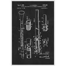 Fender Electric Guitar Musical Instrument Patent Blueprint Poster ...