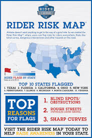 motorcycle For Riskiest Equipment State Cars Which The Is Driving infographic Riders