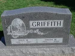 """Freda Marcella """"Marcy"""" Bliss Griffith (1925-2006) - Find A Grave Memorial"""