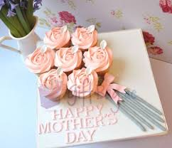 Mothers Day Cupcake Bouquet Orange Cupcakes Cakes Gourmet