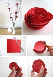 Chart Paper Flowers Step By Step Flower From Chart Paper By Gunjan Gera Musely