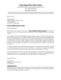 Cover Letter Lawn Care Examples Sample Child Care Resume Child Care