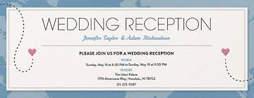 wedding reception card free welcome and wedding reception invitations evite