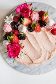 Chocolate Cake With Strawberry Cream Cheese Frosting Baking Ginger