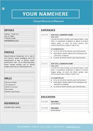 Microsoft Word Resume Template Unique 40 Free Resume Templates [ PSD Word ] UTemplates