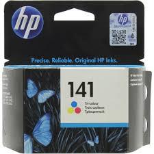 Оригинальный <b>картридж HP CB337HE</b> (<b>№141</b>) (трехцветный ...
