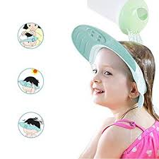 baby shower cap. Unique Baby Yarachel Kids Baby Shower Cap  Adjustable Leak Proof Silicone Bath Wash  Hair Shield Hat Soft For