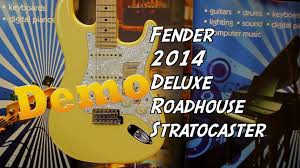 fender 2014 deluxe roadhouse strat demo damon pmt fender 2014 deluxe roadhouse strat demo damon pmt