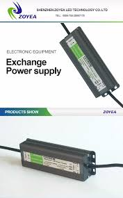 Led Light Power Supply 80w 5v 12v 24v 36v 48v Waterproof Led Power Supply With Ce Rohs Led Driver For Outdoor Indoor Led Light View Led Power Supply Zoyea Product Details