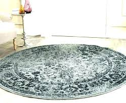 4x4 round rugs rug 4 area green black and white octagon bale big large size