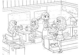 Small Picture 20 Lego Friends Coloring Pages ColoringStar