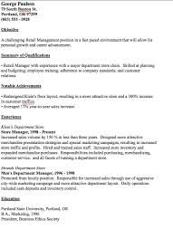 Department Store Manager Resumes Pin By Ririn Nazza On Free Resume Sample Pinterest Resume