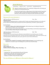 9 Education Resume Templates Precis Format