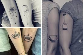 парные татуировки для жениха и невесты Hot Wedding Blog