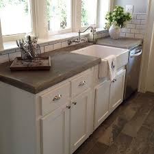 Best 25 Concrete Countertops Ideas On Pinterest  Polished Kitchen Counter With Sink