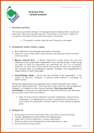 executive business plan template 11 12 business plan format upsresume