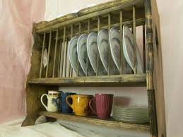 plate rack french provincial style