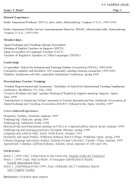 How Toite Student Cv Format Example Continued Resume With References