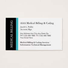business card office medical billing coding business cards zazzle com