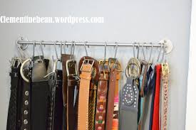 Organizing Belts Using S Hooks: Only $5 To Create