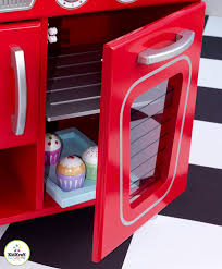 Kid Craft Retro Kitchen Amazoncom Red Retro Kitchen Toys Games