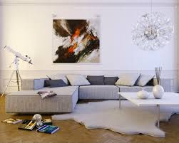 White Living Room Design How To Decorate With Paintings Home Caprice