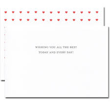 Boxed Valentines Day Cards For Business Floating Hearts