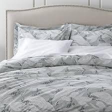 laurel duvet covers and pillow shams crate barrel