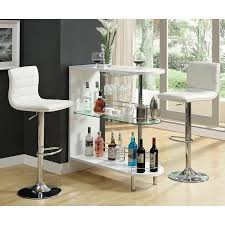 white home bar furniture. 10106 Series Home Bar Set (White) White Furniture