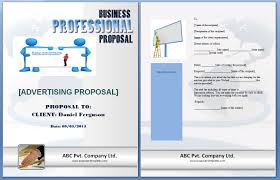 It Proposal Template Word Advertising Proposal Template Formats Examples In Word Excel 5
