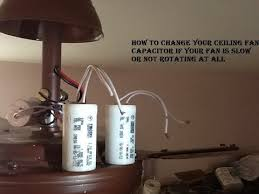 how to change your ceiling fan capacitor