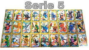 Alle 27 limitierte Karten der LEGO Ninjago Trading Card Game Serie 5 und wo  sie zu finden sind ? - YouTube