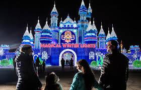 Magical Winter Lights Tickets Festival Christmas Light Show Houston Magical Winter Lights