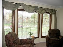 ... simple window treatments for large windows ...