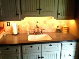 under counter led light strip kitchen cabinet lighting