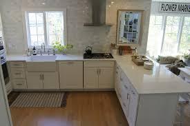 hello lovely white shaker kitchen minuet quartz tranquil timeless