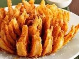 air fryer easy low calorie blooming onion