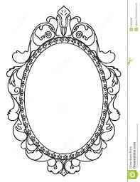 antique frame drawing. 28+ Collection Of Vintage Mirror Frames Drawing Antique Frame Drawing T